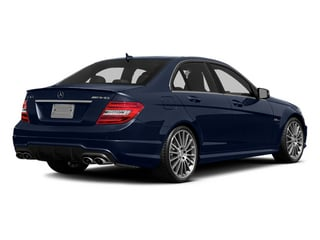 Lunar Blue Metallic 2014 Mercedes-Benz C-Class Pictures C-Class Sport Sedan 4D C63 AMG photos rear view