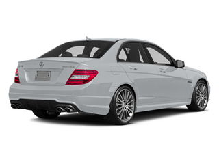 Diamond Silver Metallic 2014 Mercedes-Benz C-Class Pictures C-Class Sport Sedan 4D C63 AMG photos rear view
