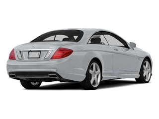 Diamond Silver Metallic 2014 Mercedes-Benz CL-Class Pictures CL-Class Coupe 2D CL550 AWD V8 Turbo photos rear view