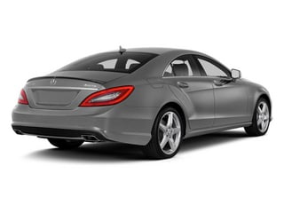 designo Magno Alanite Gray (Matte Finish) 2014 Mercedes-Benz CLS-Class Pictures CLS-Class Sedan 4D CLS550 AWD photos rear view