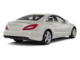 designo Magno Cashmere White (Matte Finish) 2014 Mercedes-Benz CLS-Class Pictures CLS-Class Sedan 4D CLS550 photos rear view
