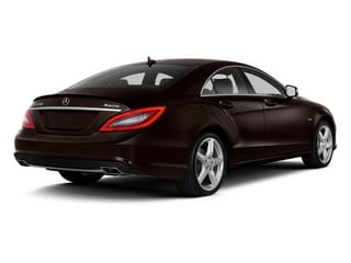 Cuprite Brown Metallic 2014 Mercedes-Benz CLS-Class Pictures CLS-Class Sedan 4D CLS550 photos rear view