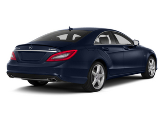 Lunar Blue Metallic 2014 Mercedes-Benz CLS-Class Pictures CLS-Class Sedan 4D CLS550 photos rear view