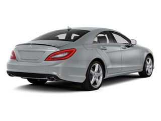 Diamond Silver Metallic 2014 Mercedes-Benz CLS-Class Pictures CLS-Class Sedan 4D CLS550 photos rear view