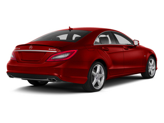 Cardinal Red Metallic 2014 Mercedes-Benz CLS-Class Pictures CLS-Class Sedan 4D CLS550 photos rear view