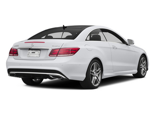 Polar White 2014 Mercedes-Benz E-Class Pictures E-Class Coupe 2D E350 AWD V6 photos rear view