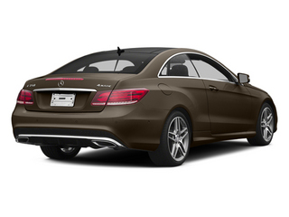 Dolomite Brown 2014 Mercedes-Benz E-Class Pictures E-Class Coupe 2D E350 AWD V6 photos rear view