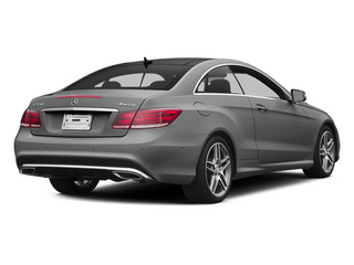 Palladium Silver Metallic 2014 Mercedes-Benz E-Class Pictures E-Class Coupe 2D E350 AWD V6 photos rear view