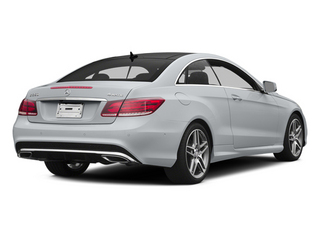 Diamond Silver Metallic 2014 Mercedes-Benz E-Class Pictures E-Class Coupe 2D E350 AWD V6 photos rear view