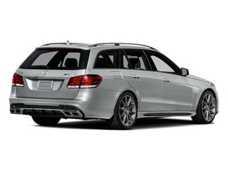 Iridium Silver Metallic 2014 Mercedes-Benz E-Class Pictures E-Class Wagon 4D E63 AMG S AWD V8 Turbo photos rear view