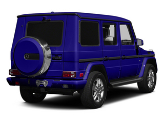 designo Mystic Blue 2014 Mercedes-Benz G-Class Pictures G-Class 4 Door Utility 4Matic photos rear view