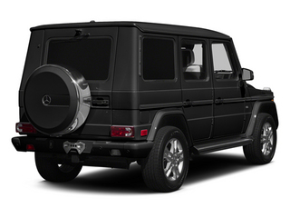 Magnetite Black Metallic 2014 Mercedes-Benz G-Class Pictures G-Class 4 Door Utility 4Matic photos rear view