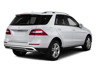 Polar White 2014 Mercedes-Benz M-Class Pictures M-Class Utility 4D ML350 2WD V6 photos rear view