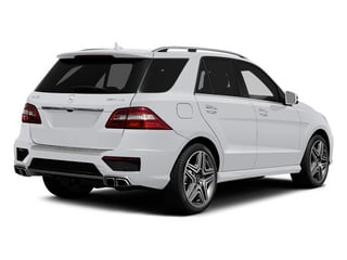 Polar White 2014 Mercedes-Benz M-Class Pictures M-Class Utility 4D ML63 AMG AWD photos rear view