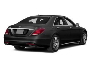 Magnetite Black Metallic 2014 Mercedes-Benz S-Class Pictures S-Class Sedan 4D S550 AWD photos rear view