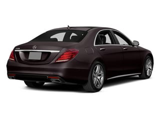 Ruby Black Metallic 2014 Mercedes-Benz S-Class Pictures S-Class Sedan 4D S550 AWD photos rear view