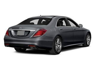 Anthracite Blue Metallic 2014 Mercedes-Benz S-Class Pictures S-Class Sedan 4D S550 AWD photos rear view