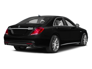 Obsidian Black Metallic 2014 Mercedes-Benz S-Class Pictures S-Class Sedan 4D S63 AMG AWD V8 Turbo photos rear view