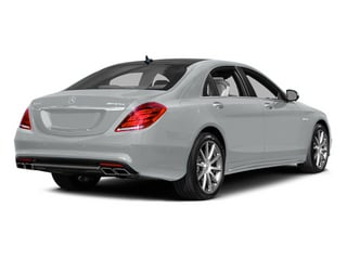 Iridium Silver Metallic 2014 Mercedes-Benz S-Class Pictures S-Class Sedan 4D S63 AMG AWD V8 Turbo photos rear view