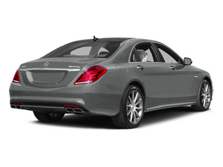Palladium Silver Metallic 2014 Mercedes-Benz S-Class Pictures S-Class Sedan 4D S63 AMG AWD V8 Turbo photos rear view