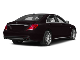 Ruby Black Metallic 2014 Mercedes-Benz S-Class Pictures S-Class Sedan 4D S63 AMG AWD V8 Turbo photos rear view