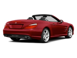 Mars Red 2014 Mercedes-Benz SL-Class Pictures SL-Class Roadster 2D SL550 V8 Turbo photos rear view