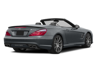 Shadow Grey Matte 2014 Mercedes-Benz SL-Class Pictures SL-Class Roadster 2D SL63 AMG V8 Turbo photos rear view