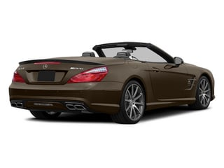 Dolomite Brown 2014 Mercedes-Benz SL-Class Pictures SL-Class Roadster 2D SL63 AMG V8 Turbo photos rear view