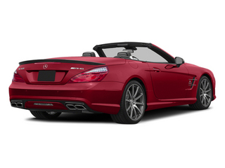 Mars Red 2014 Mercedes-Benz SL-Class Pictures SL-Class Roadster 2D SL63 AMG V8 Turbo photos rear view