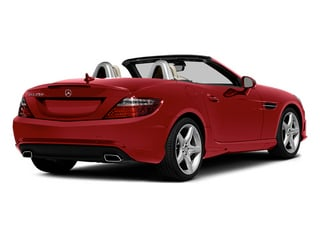 Mars Red 2014 Mercedes-Benz SLK-Class Pictures SLK-Class Roadster 2D SLK250 I4 Turbo photos rear view