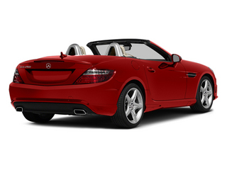 Cardinal Red Metallic 2014 Mercedes-Benz SLK-Class Pictures SLK-Class Roadster 2D SLK250 I4 Turbo photos rear view
