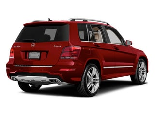Mars Red 2014 Mercedes-Benz GLK-Class Pictures GLK-Class Utility 4D GLK350 2WD V6 photos rear view