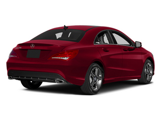 Jupiter Red 2014 Mercedes-Benz CLA-Class Pictures CLA-Class Sedan 4D CLA250 AWD I4 Turbo photos rear view