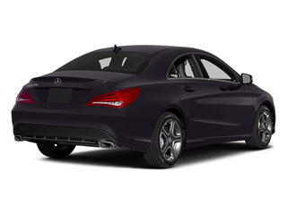 Northern Lights Violet Metallic 2014 Mercedes-Benz CLA-Class Pictures CLA-Class Sedan 4D CLA250 AWD I4 Turbo photos rear view