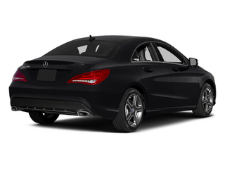 Night Black 2014 Mercedes-Benz CLA-Class Pictures CLA-Class Sedan 4D CLA250 AWD I4 Turbo photos rear view