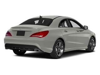 Polar Silver Metallic 2014 Mercedes-Benz CLA-Class Pictures CLA-Class Sedan 4D CLA250 AWD I4 Turbo photos rear view