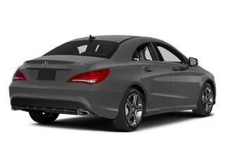 Mountain Gray Metallic 2014 Mercedes-Benz CLA-Class Pictures CLA-Class Sedan 4D CLA250 AWD I4 Turbo photos rear view
