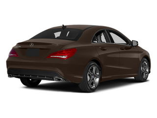 Cocoa Brown Metallic 2014 Mercedes-Benz CLA-Class Pictures CLA-Class Sedan 4D CLA250 AWD I4 Turbo photos rear view