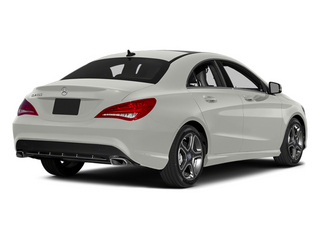 Magno Polar Silver 2014 Mercedes-Benz CLA-Class Pictures CLA-Class Sedan 4D CLA250 AWD I4 Turbo photos rear view
