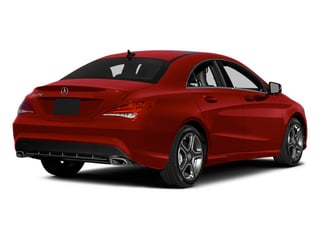 Patagonia Red 2014 Mercedes-Benz CLA-Class Pictures CLA-Class Sedan 4D CLA250 AWD I4 Turbo photos rear view