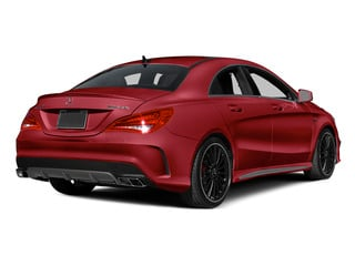 Jupiter Red 2014 Mercedes-Benz CLA-Class Pictures CLA-Class Sedan 4D CLA45 AMG AWD I4 Turbo photos rear view