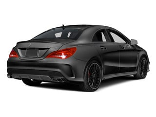 Mountain Gray Metallic 2014 Mercedes-Benz CLA-Class Pictures CLA-Class Sedan 4D CLA45 AMG AWD I4 Turbo photos rear view