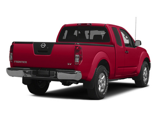 Lava Red 2014 Nissan Frontier Pictures Frontier King Cab SV 2WD photos rear view