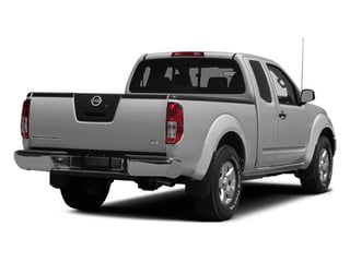 Brilliant Silver 2014 Nissan Frontier Pictures Frontier King Cab SV 2WD photos rear view