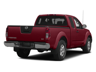 Cayenne Red 2014 Nissan Frontier Pictures Frontier King Cab SV 2WD photos rear view