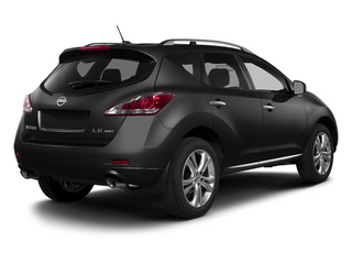 Super Black 2014 Nissan Murano Pictures Murano Utility 4D LE AWD V6 photos rear view