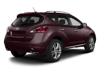 Midnight Garnet Metallic 2014 Nissan Murano Pictures Murano Utility 4D LE AWD V6 photos rear view