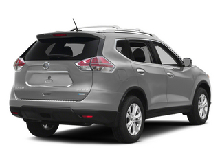 Brilliant Silver 2014 Nissan Rogue Pictures Rogue Utility 4D SL AWD I4 photos rear view