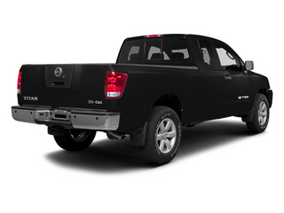 Galaxy Black Metallic 2014 Nissan Titan Pictures Titan King Cab S 4WD photos rear view