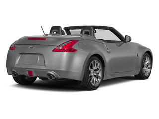 Brilliant Silver Metallic 2014 Nissan 370Z Pictures 370Z Roadster 2D Touring V6 photos rear view